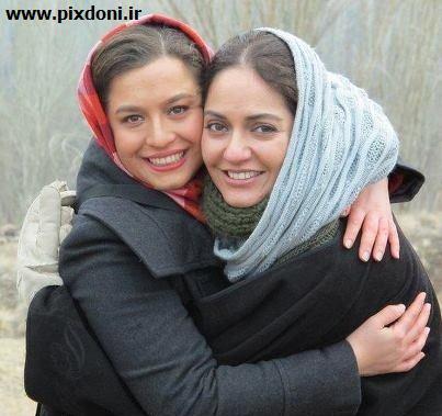 عکسی جنجالی از مهناز افشار در آغوش شریفی نیا