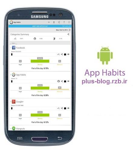 نرم افزار کاربردی برنامه ریزی App Habits v1.2.2 – اندروید