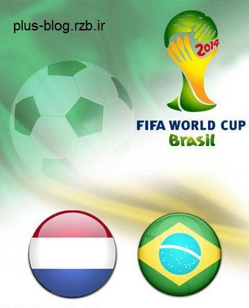 دانلود بازی بزریل و هلند در جام جهانی Brazil vs Netherlands World Cup 2014