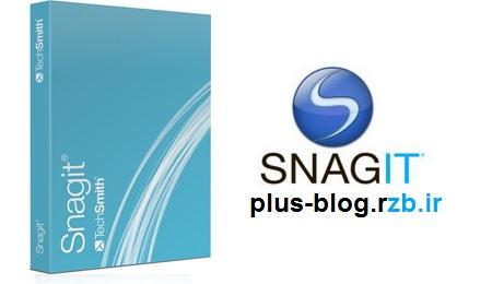 نرم افزار فیلم و عکس برداری محیط دسکتاپ SnagIt 12.1.0 Build 1322