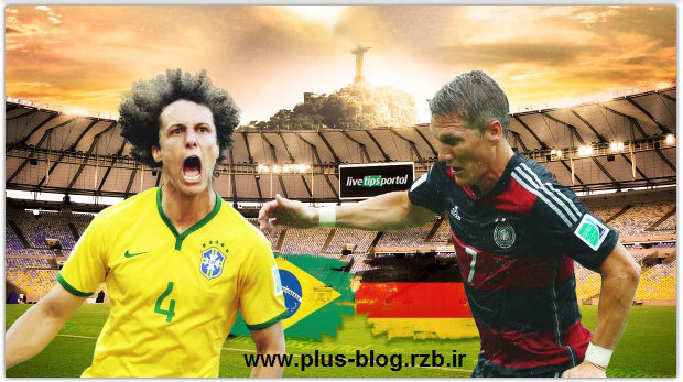 دانلود مسابقه فوتبال برزیل و آلمان Brazil Vs Germany 2014