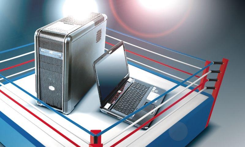 لپ تاپ یا دسک تاپ؟!