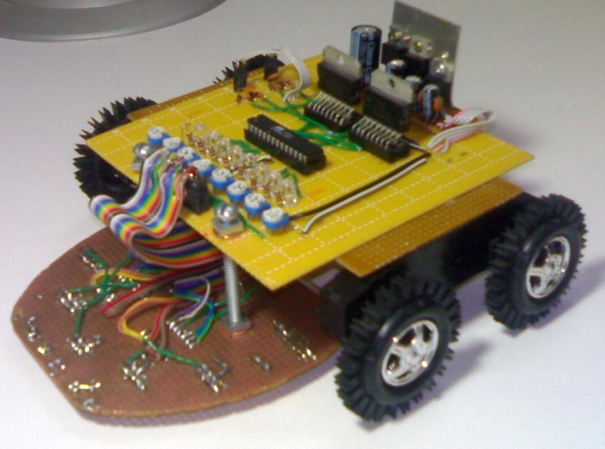 پایان نامه ساخت یک روبات مسیریاب