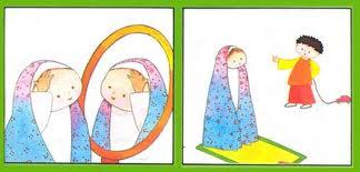 نقاشی های نماز برای کودکان