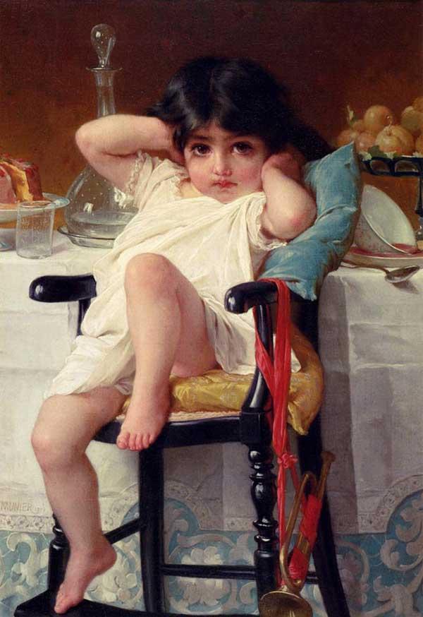 نقاشي هاي زيباي رنگ و روغن اثر هنرمند فرانسوي اميل مونير