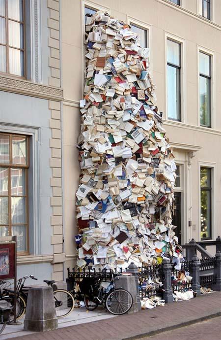 آبشاري از جنس کتاب