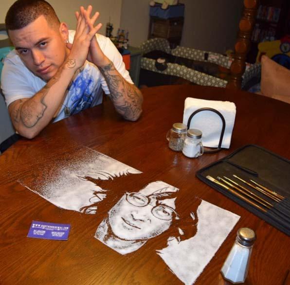 هنرنمایی شگفت انگیز با نمک