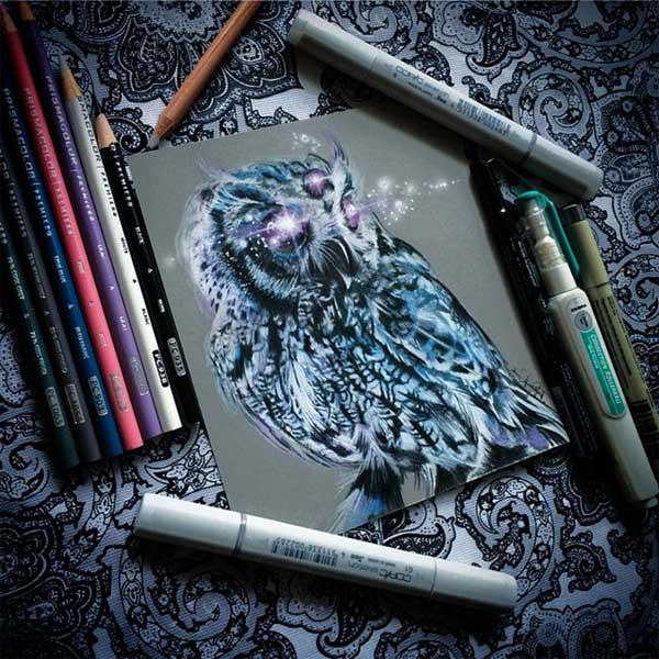 نقاشي هاي جادويي با مداد