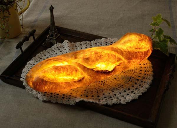 لامپ هاي شگفت انگيز به شکل نان