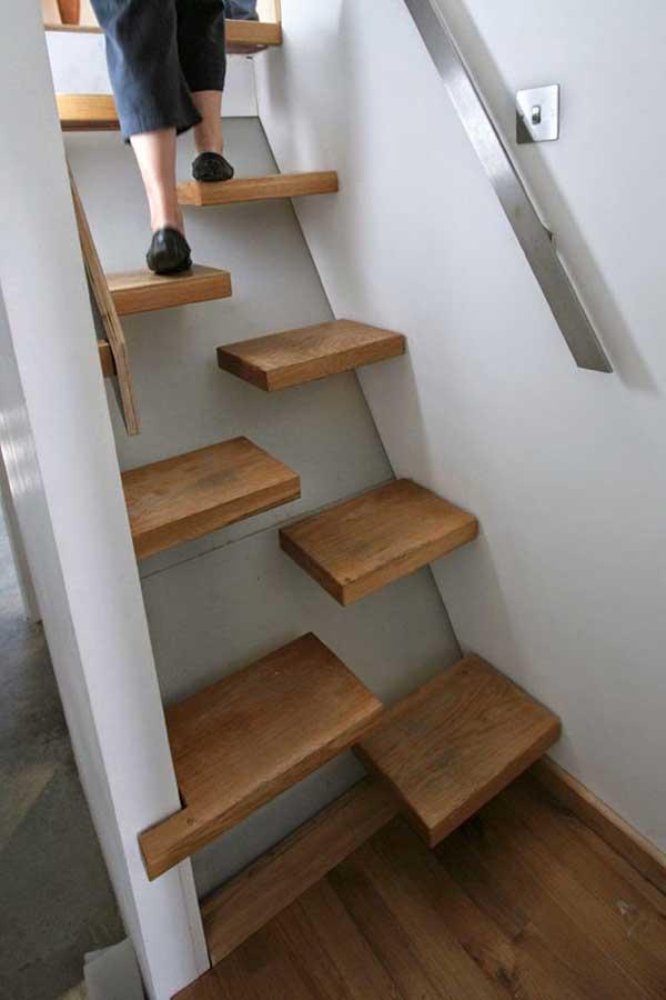 طراحي هاي جالب و متفاوت راه پله ها
