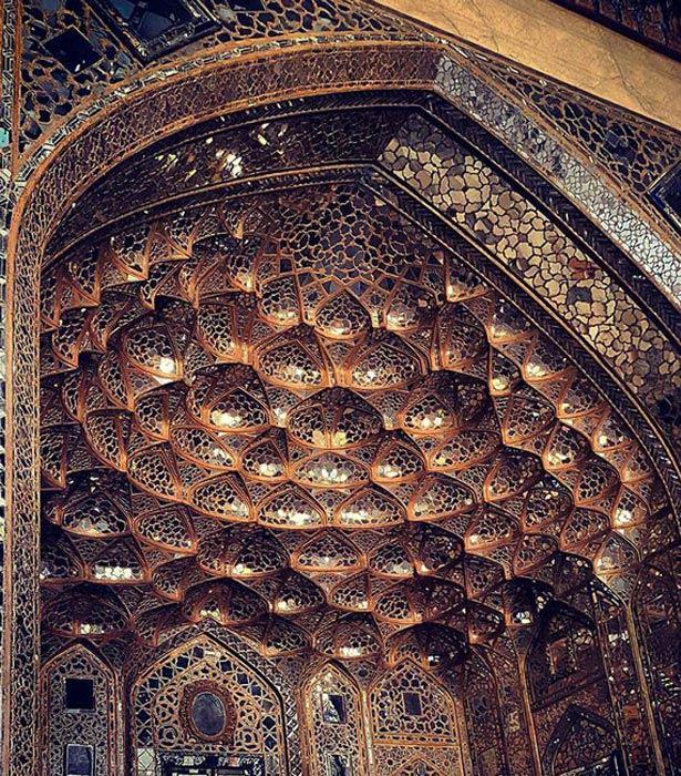 زیبایی خیره کننده معماری مساجد در ایران