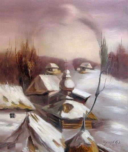 نقاشی های ترکیبی زیبا