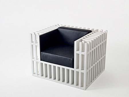 صندلي قفسه کتاب