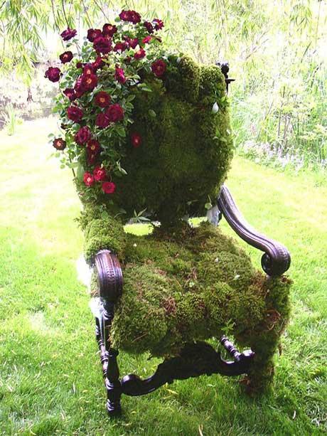 ايده هاي جالب و ديدني براي دکوراسيون باغ و باغچه