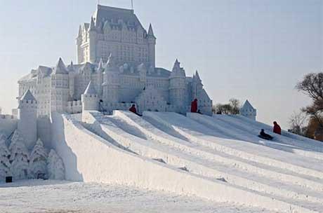 مجسمه های برفی