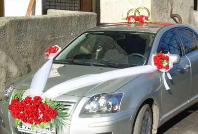 مدلهاي جذاب و رمانتيک تزيين ماشين عروس