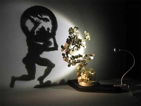 نقاشی با نور و سایه