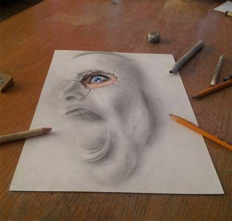 نقاشي هاي حجمي سه بعدی