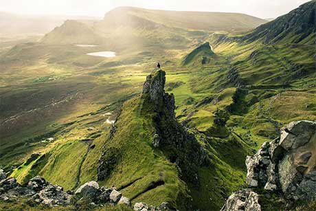 طبیعت زیبای اسکاتلند