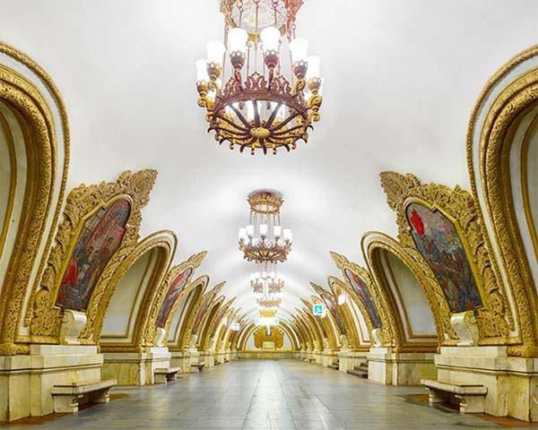 متروي زيباي مسکو