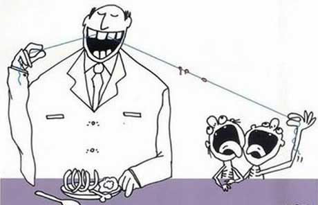 کاریکاتور های زیبا