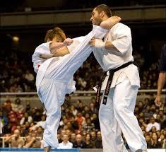تقابل کیوکوشین کاراته با کشتی کج