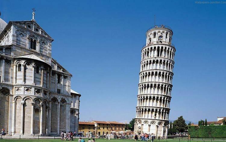 حقایقی جالب درباره ی برج کج پیزا