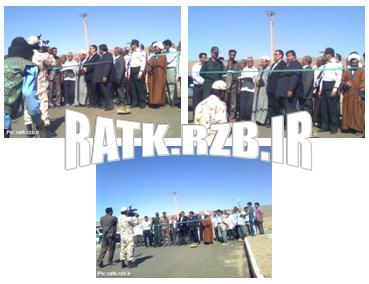 افتتاح طرح هادی در روستای تاریخی رتک
