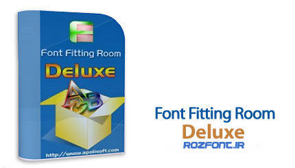 نرم افزار  Apolisoft Font Fitting Room Deluxe v3.2.2.0