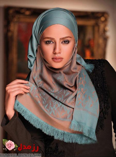 مدل شال و روسری 2014, جدیدترین مدل شال و روسری  مدل شال و روسری ایرانی
