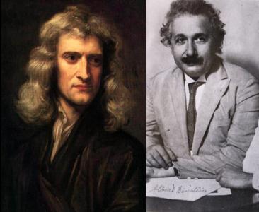انیشتن-نیوتون