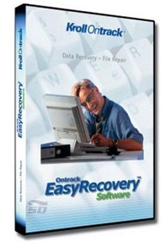 نرم افزار بازیابی فایل های پاک شده  Easy Recovery Pro 10