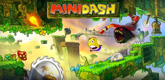 دانلود بازی بسیار زیبا و فانتزی Mini Dash برای آندروید Mini Dash 1.00
