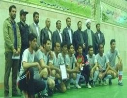 تیم آیسک قهرمان فوتسال «جام نوروز» سرایان