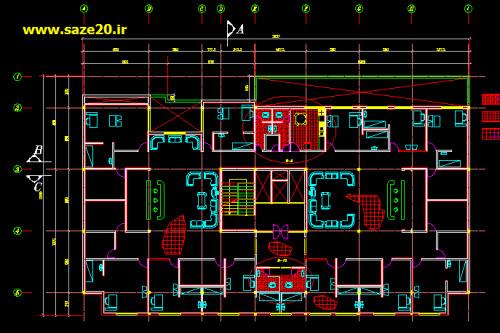 دانلود پلان بیمارستان, دانلود نقشه بیمارستان, دانلود پلان بیمارستان dwg, دانلود نقشه بیمارستان dwg, نمای بیمارستان , دانلود پروژه معماری , دانلود پروژه عمران,
