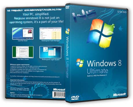 دانلود ویندوز جدید Microsoft Windows 8 Consumer Preview Build 8250 x86 x64
