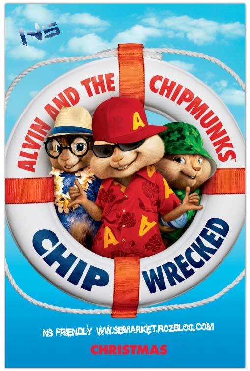 دانلود انیمیشن آلوین و سنجاب ها Alvin and the Chipmun 3  Chipwrecked 2011 BluRay