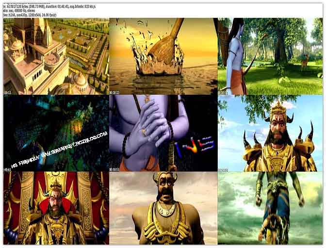 دانلود انیمیشن رامایانا Ramayana The Epic 2010 BluRay 720p