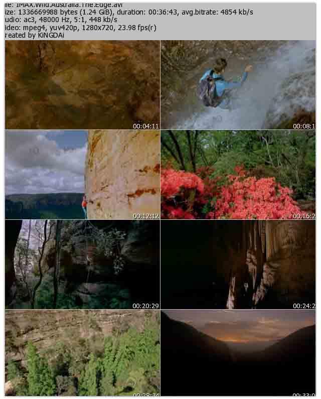 دانلود مستند حیات وحش استرالیا IMAX Wild Australia The Edge 1996 BluRay 720p