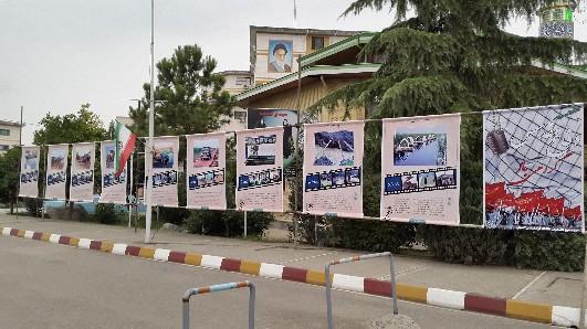 برگزاری نمایشگاه دفاع مقدس توسط بسیج دانشجویی