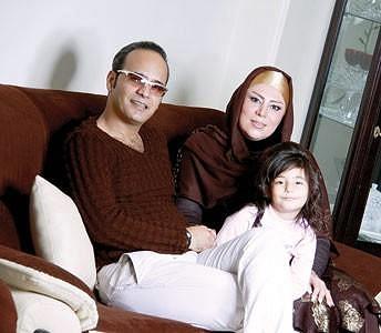 شهرام شکوهی و خانواده اش