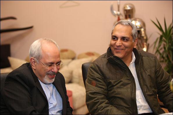 محمدجواد ظریف و مهران مدیری