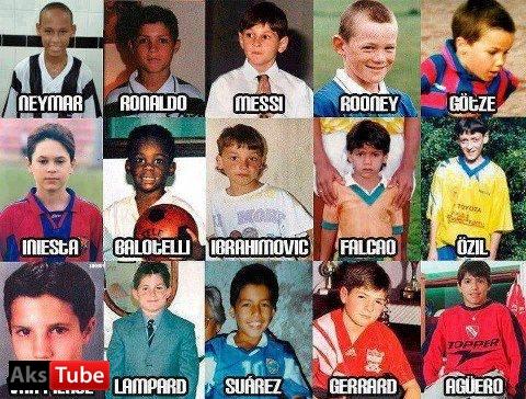 عکس فوتبالیست های خارجی