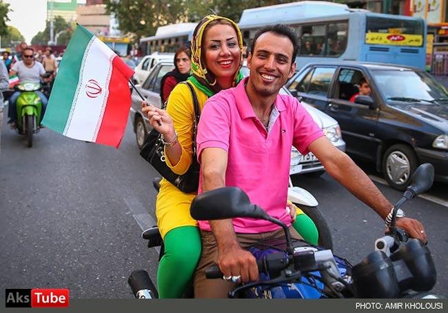 عکس دختر زیبای تهرانی