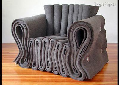 عجیب ترین مبل ها و صندلی های جهان +عکس ها