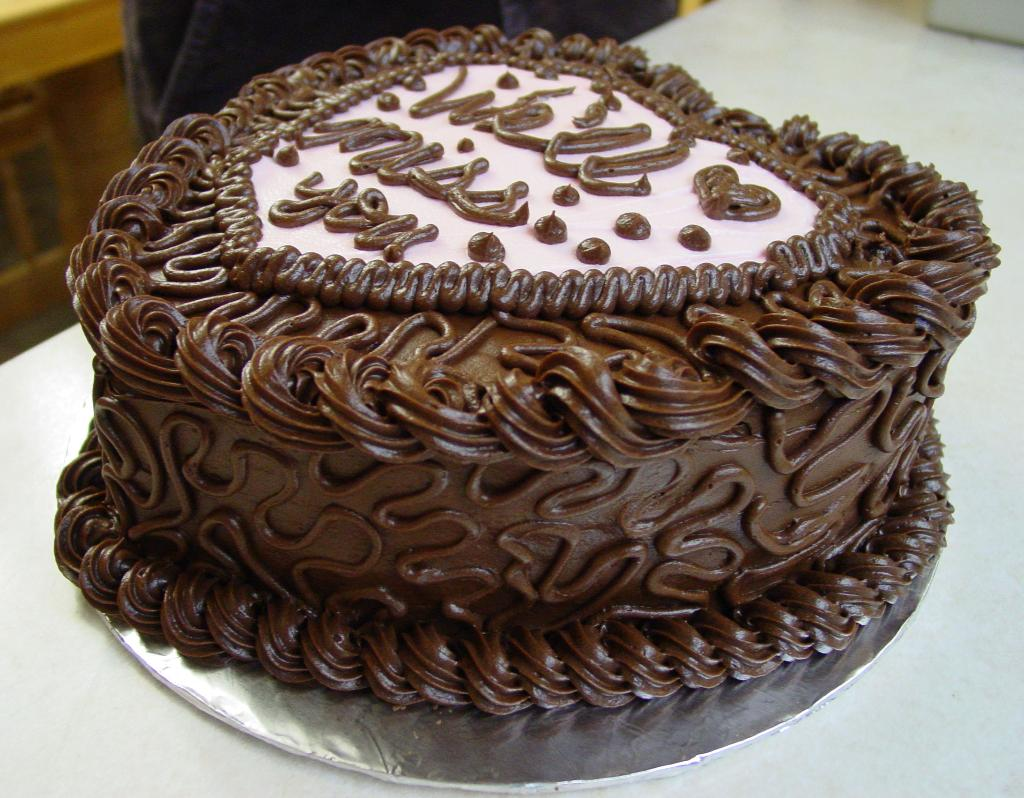 عکس کیک شکلاتی
