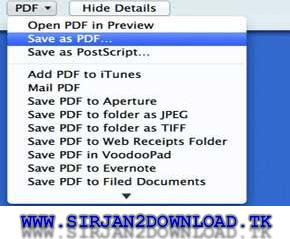 آموزش ساخت PDF در مکWww.Sirjan2Download.Tk!!