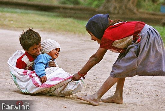 سرگرمی کودکان فقیر