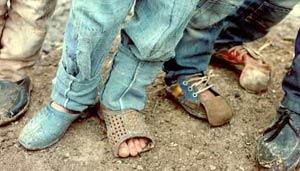 لنگ کفش
