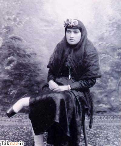 عکس قدیمی از اولین زن روزنامه نگار ایرانی